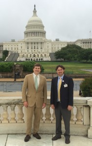 Virginia Industrial Hemp Coalition Founder Jason Amatucci  and Chase Milner the Shenandoah Valley Regional Coordinator