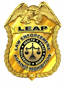 LEAP badge large
